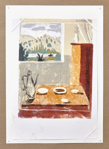 Print, Ariane Müller, Day