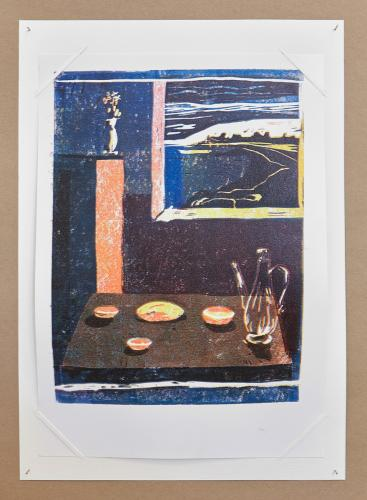 Print, Ariane Müller, Night