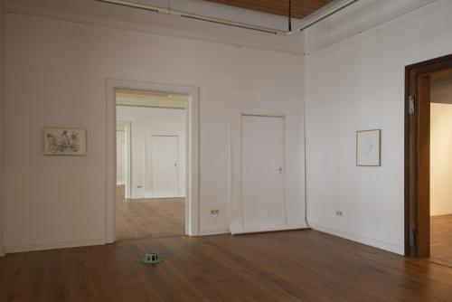 Kunstverein Göttingen 2017, Ariane Müller, exhibition view, Doors