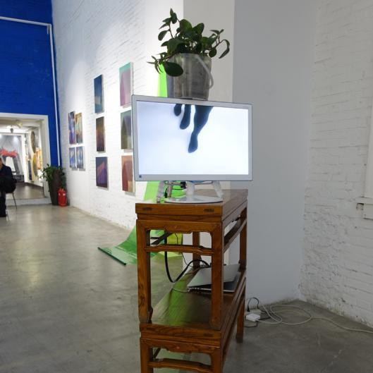 Ariane Müller, Martin Ebner, Untitled (It) installation view, Red Gate Gallery, 2019
